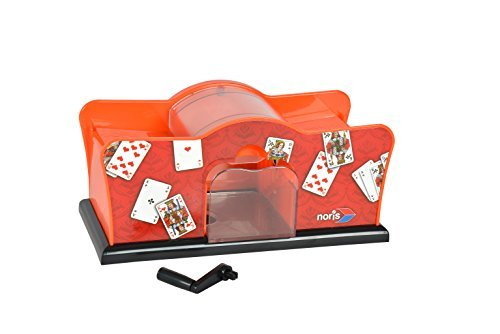 Noris Spiele 606154620 - Karten-Mischmaschine manuell