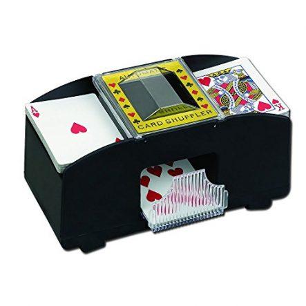 FreshGadgetz Automatischer Spielkarten-Mischer für Poker Casino